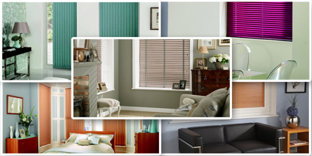 Range of blinds available