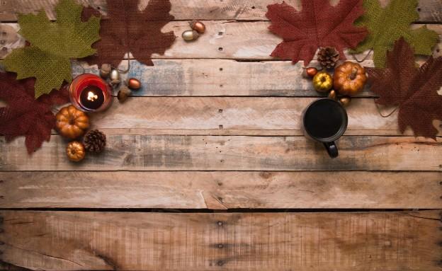An image of autumn decor inside a house.