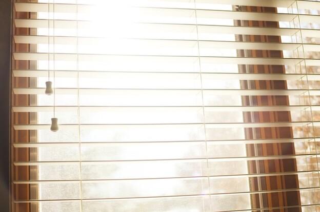 shutter blinds in a Manchester home