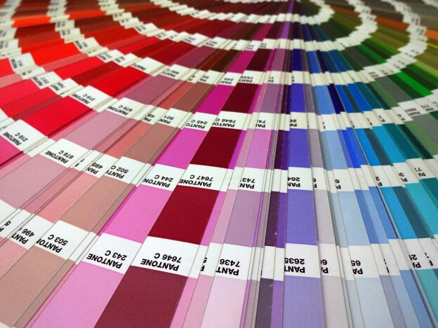 pantone colour wheel