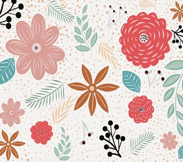 image of a floral pattern
